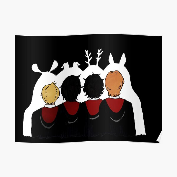 The Marauders Ears Poster