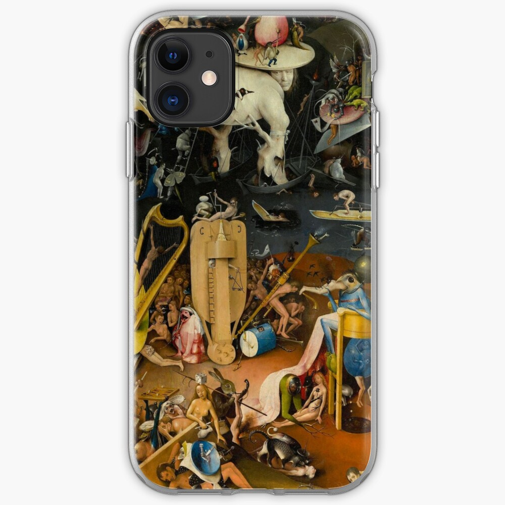 The Garden of Earthly Delights by Hieronymus Bosch iphone 11 case