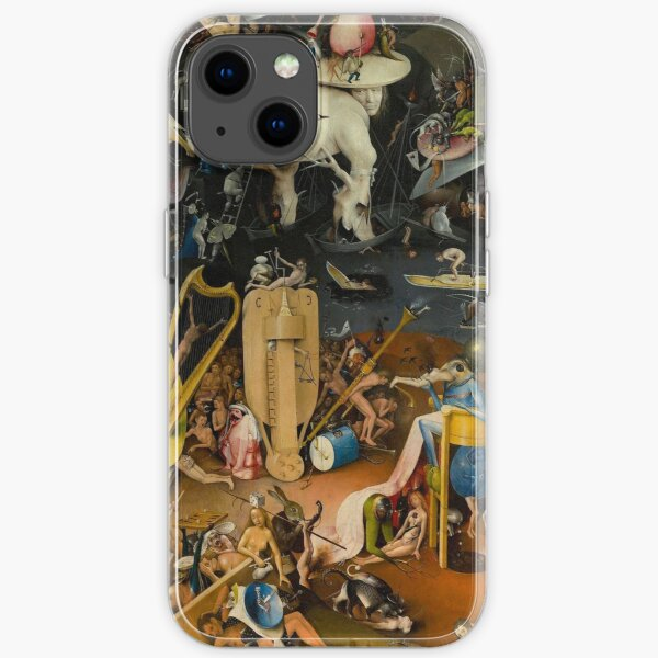 Hieronymus Bosch - The Garden of Earthly Delights iPhone Soft Case