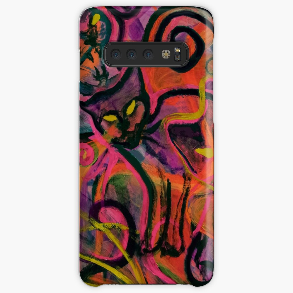 Wildfire Cats Case & Skin for Samsung Galaxy