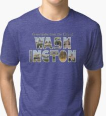 Greetings from the City of Washington, DC Tri-blend T-Shirt