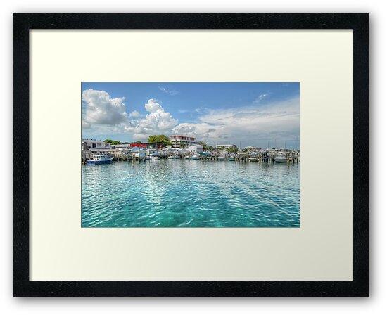 Marina in Nassau, The Bahamas by Jeremy Lavender Photography