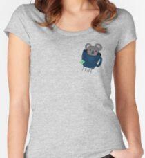 Koala-Tea Puns (Quality Pun)  Women's Fitted Scoop T-Shirt