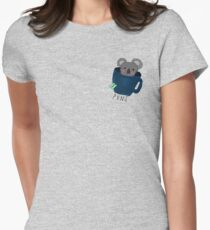 Koala-Tea Puns (Quality Pun)  Women's Fitted T-Shirt