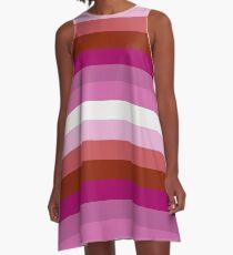 Lesbian Pride A-Line Dress