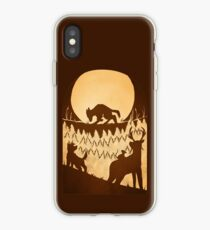 Full Moon in the Forest iPhone Case