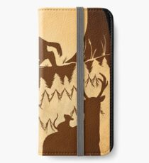 Full Moon in the Forest iPhone Wallet/Case/Skin