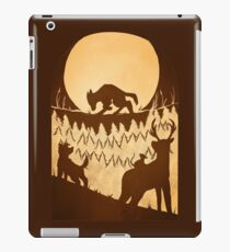 Full Moon in the Forest iPad Case/Skin