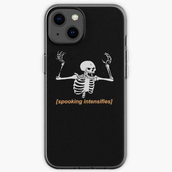 Spooking Intensifies Spooky Scary Skeleton Meme iPhone Soft Case