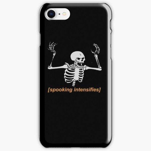 Spooking Intensifies Spooky Scary Skeleton Meme iPhone Snap Case