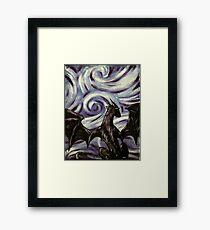Dark Dragon Framed Print
