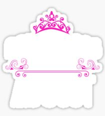 Princesses are born in August - Birthday Gift Sticker