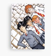 Marauders Posing Canvas Print