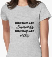 Tom Petty - Diamonds and Rocks Women's Fitted T-Shirt