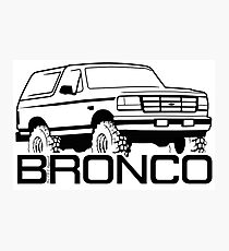 1992-1996 Ford Bronco Photographic Print