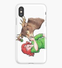 Christmas Fun with Lily and Prongs iPhone Case/Skin