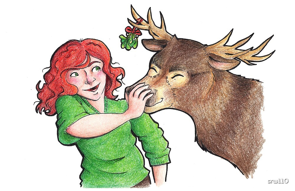 Christmas Fun with Lily and Prongs by srw110