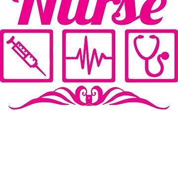 Nurse life nursing t-shirt by mamatgaye
