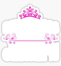 Princesses are born in January - Birthday Gift Sticker