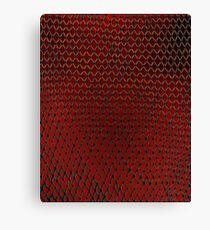 Net Art - 1 Layer - Red Hot Canvas Print