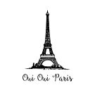 Oui Oui Paris - Paris Souvenir by ColoringPress