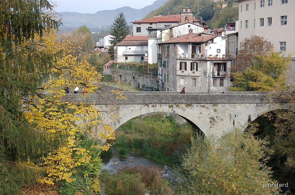 Castelnuovo di Garfagnana, Italy by jenniferd