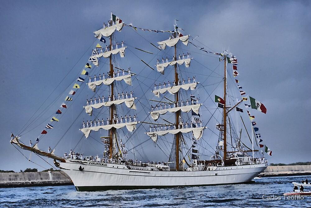 CUAUHTÉMOC (Vessels visit Portugal serie) by Carlos Teófilo