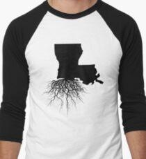 Louisiana Roots Men's Baseball ¾ T-Shirt