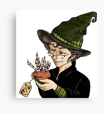 McGonagall's Birthday in Colour Canvas Print