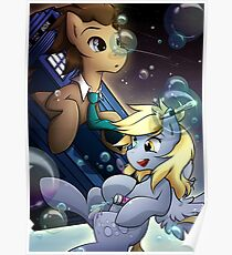 Derpy & The Doctor Poster