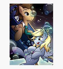 Derpy & The Doctor Photographic Print