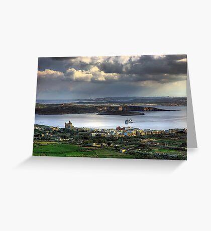 Maltese Archipelago Greeting Card