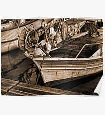 Provence fisher boat... Poster