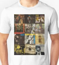 Tom Waits Discography collage Unisex T-Shirt