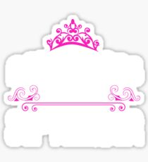 Princesses are born in September - Birthday Gift Sticker
