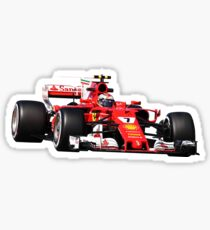 Formula 1 Kimi Raikkonen Sticker