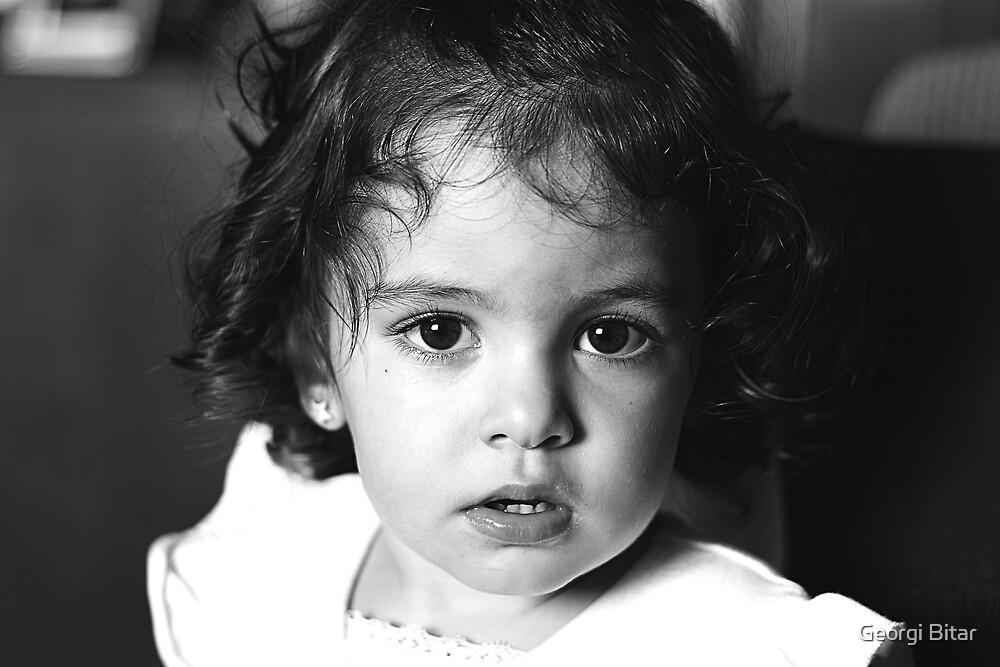 Betty's eyes by Georgi Bitar