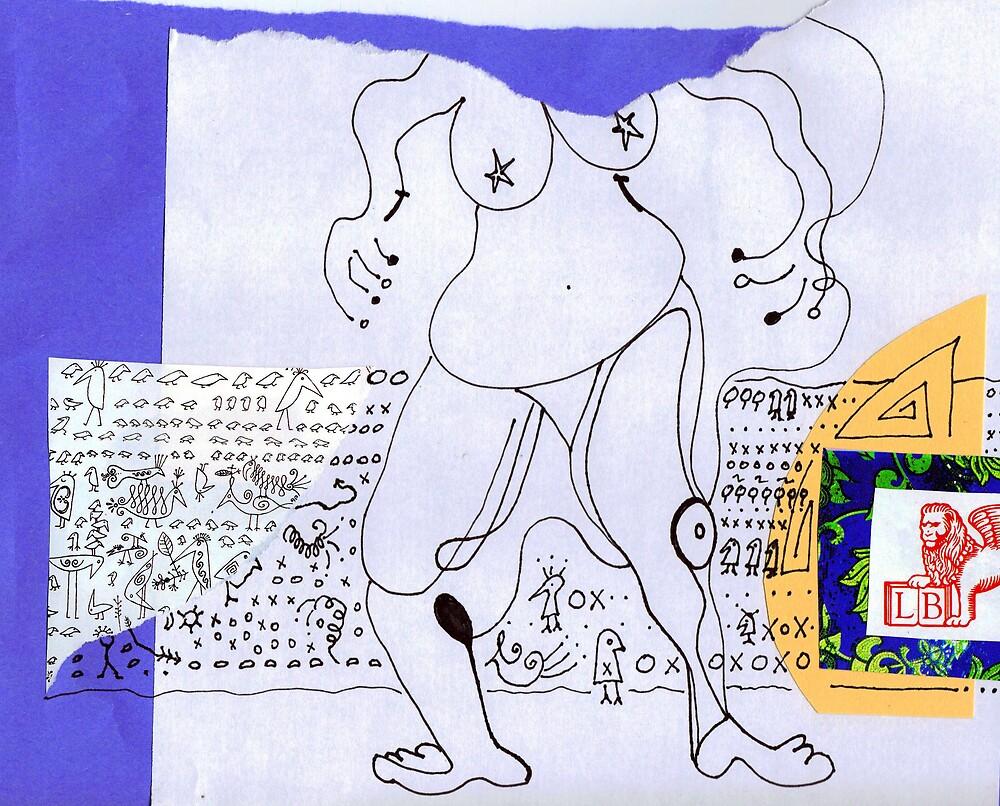 Blue Heiro by Marie Monroe