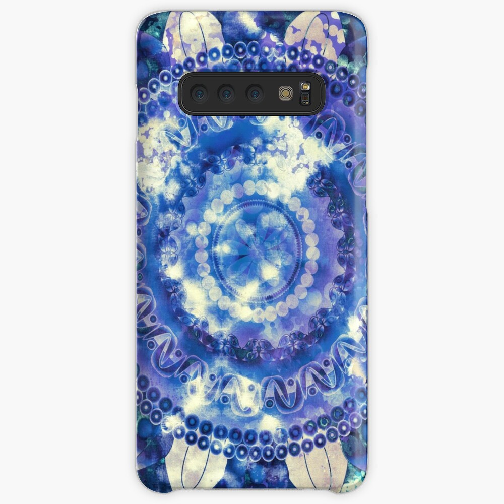 Boho Grape Fizz Mandala Case & Skin for Samsung Galaxy