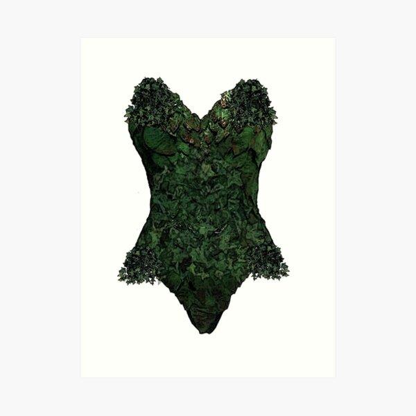 Poison Ivy Cosplay Art Print