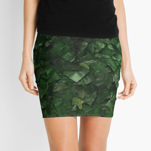 Poison Ivy Cosplay Mini Skirt