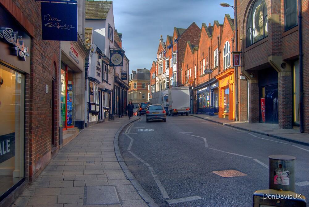 The Streets of York UK by DonDavisUK
