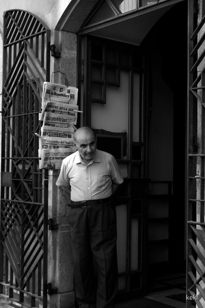 the shopkeeper by keki