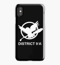 District 9 3/4 iPhone Case/Skin