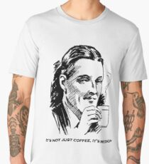 IT'S NOT JUST COFFEE, IT'S MEDICINE! Men's Premium T-Shirt