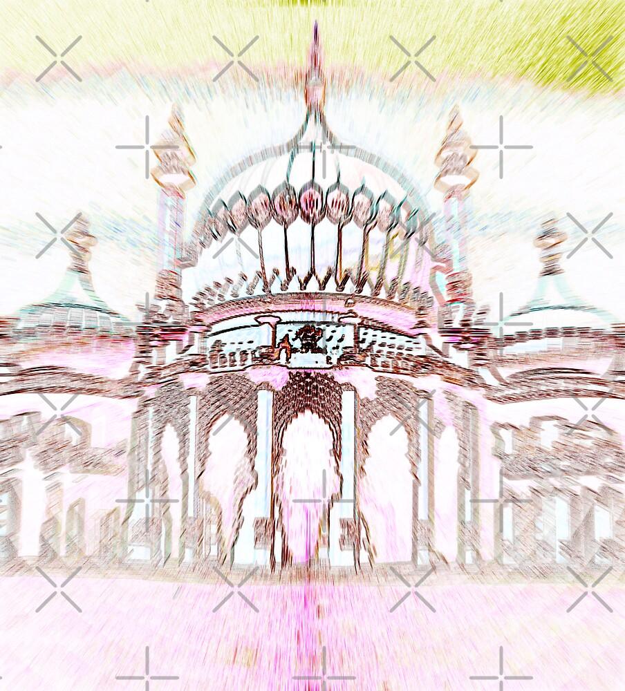 Brighton Pavillion by Gal Lo Leggio