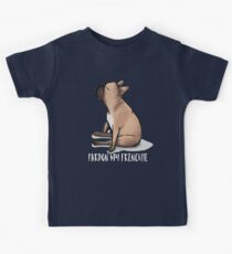 Pardon My Frenchie: French Bulldog Design Kids Clothes