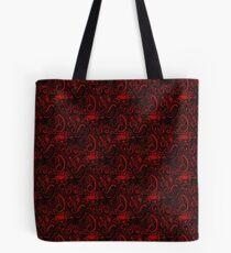 Red Universe Tote Bag