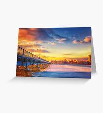 Golden Bridge to MIT Greeting Card