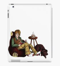 Remus, Tea, Black Dog, Colour iPad Case/Skin